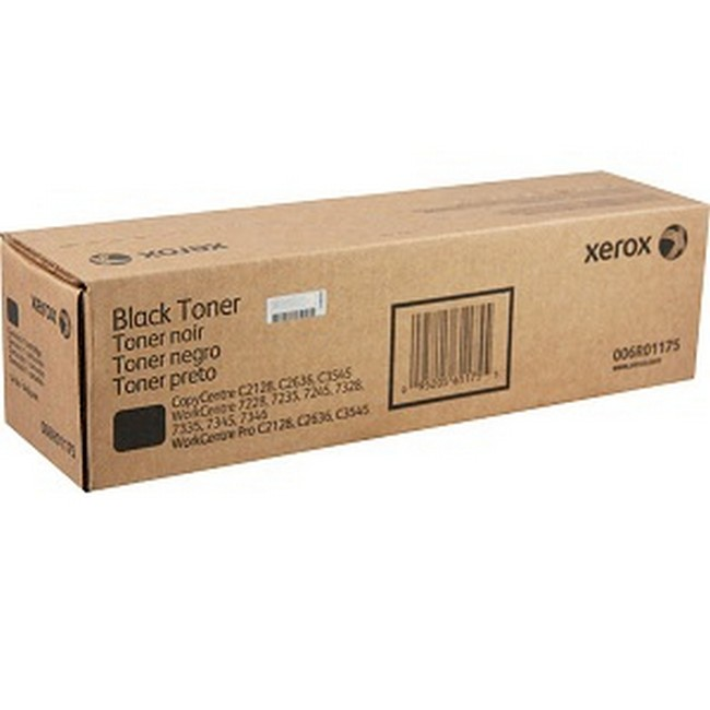 Brand New Original Xerox WorkCentre 7328 006R01175 6R1175 Black Toner Cartridge