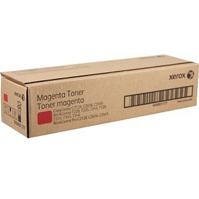 Brand New Original Xerox WorkCentre 7328 006R01177 6R1177 Magenta Toner Cartridge