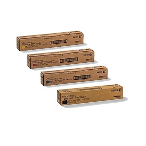 4 Pack Brand New Original Xerox WorkCentre Series 7525-7970 Laser Toner Cartridges