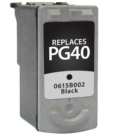 Canon PG-40 PG40 0615B002 Black Inkjet Cartridge PIXMA IP1200 - PIXMA MX310