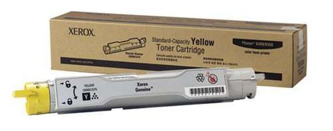 Brand New Original Xerox Phaser 6300 106R01075  Yellow Toner Cartridge