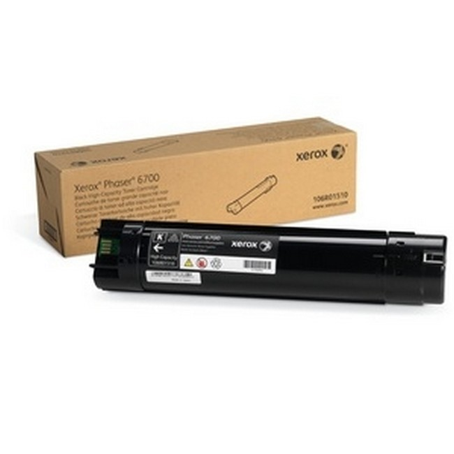 Brand New Original Xerox Phaser 6700 106R01510  Black High Yield Toner Cartridge