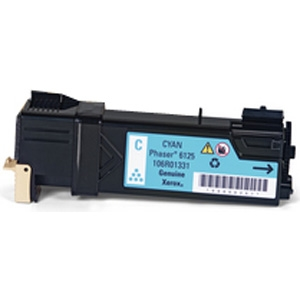 Xerox 106R01331 Cyan Compatible Toner Cartridge Phaser 6125