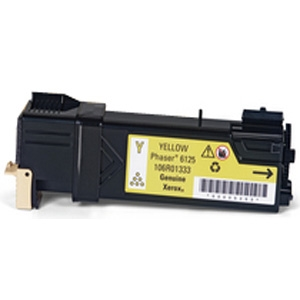 Xerox 106R01333 Yellow Compatible Toner Cartridge Phaser 6125
