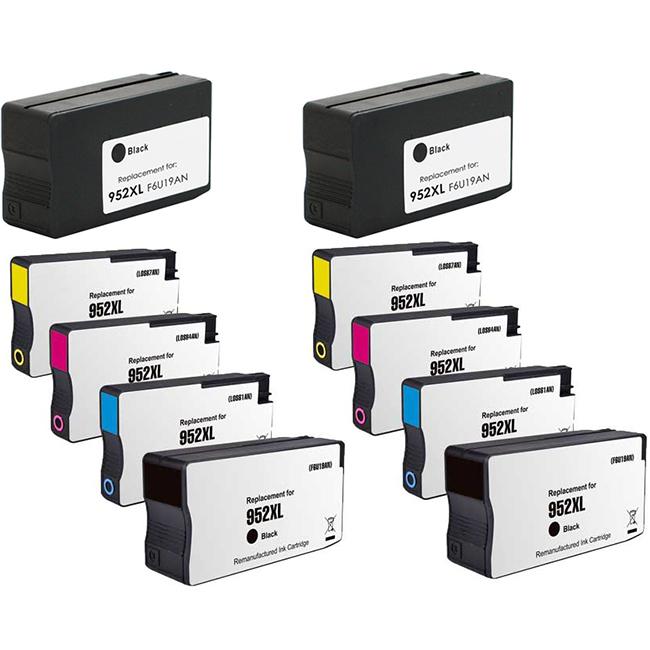 10 PK 952XL BK C//M//Y Ink Cartridge SET for HP Officejet Pro 8726 8727 8730 8736