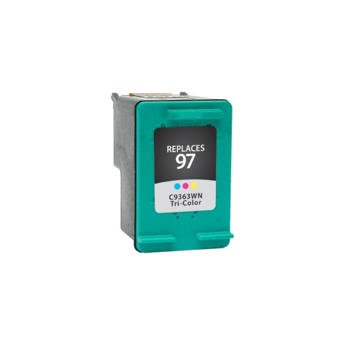HP 97 C9363WN Tri-Color Remanufactured Inkjet Cartridge