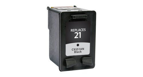 HP 21 C9351AN Black Remanufactured Inkjet Cartridge