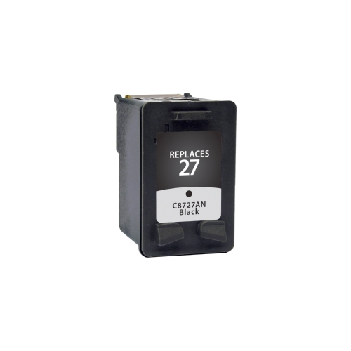 HP 27 C8727AN Black Remanufactured Inkjet Cartridge