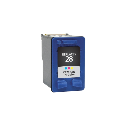 HP 28 C8728AN Tri-Color Remanufactured Inkjet Cartridge