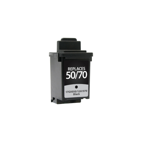Lexmark 50 / 70  12A1970 Black Inkjet Cartridge
