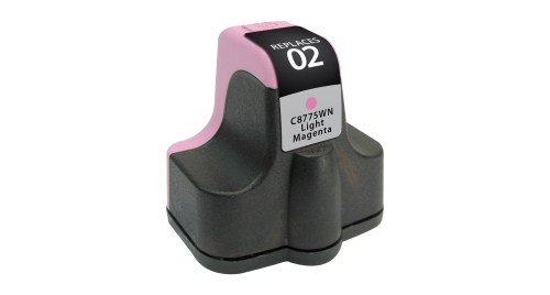 HP 02 C8775WN Light Magenta Inkjet Cartridge PhotoSmart 3110, 3210, 3310, 8250, C5100, C7200, D7100, D7400
