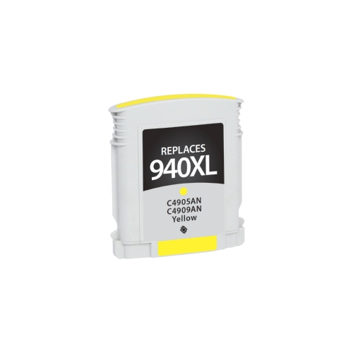 HP 940XL C4909AN Yellow Inkjet Cartridge OfficeJet Pro 8000, 8500, 8500A