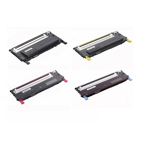 4 Pack Dell 1230 / Dell 1235 Compatible Dell 330-3012 / 330-3013 / 330-3014 / 330-3015 Laser Toner Cartridge