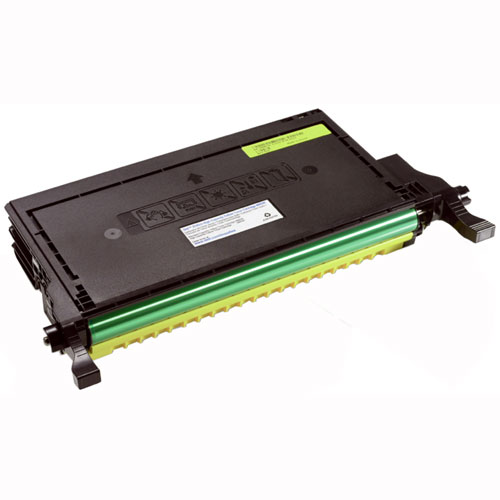 Dell 330-3790 Yellow High Yield Laser Toner Cartridge 2145, 2145CN