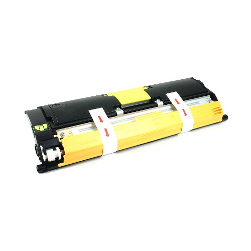 Konica Minolta 1710587-005 Yellow Laser Toner Cartridge MagiColor 2400, 2450, 2500, 2550