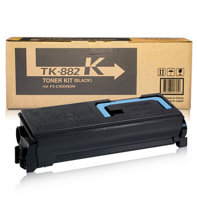 Brand New Original Kyocera Mita TK-882 1T02KA0US0 TK882K Black Toner Cartridge FS-C8500DN