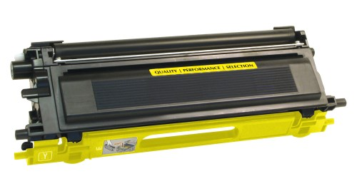 Brother TN115 TN115Y Yellow Compatible High Yield Toner Cartridge TN-115 / TN-110 TN110