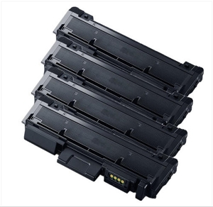 4 Pack Samsung MLT-D116L MLT D116L Black High Yield Laser Toner Cartridge