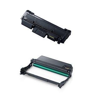 2 Pack Samsung MLT-D116L High Yield Laser Toner Cartridge and MLT-R116 Laser Drum Unit
