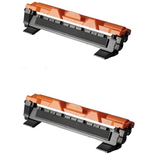 2 Pack Brother TN1030 TN-1030 Black Laser Toner Cartridges