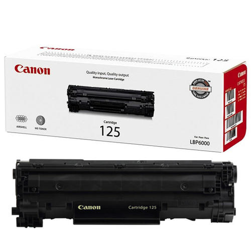Brand New Original Canon CRG-125 3484B001AA Black Laser Toner Cartridge ImageClass MF3010