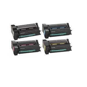 4 Pack IBM  InfoPrint Color 1654, 1664 High Yield Laser Toner Cartridges