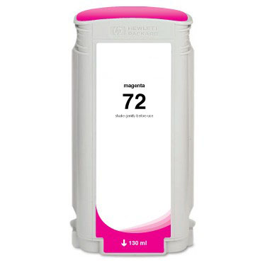 HP 72XL C4972A Magenta High Yield Remanufactured Inkjet Cartridge DesignJet T1100, T1120, T1200, T1300, T2300, T610, T620, T770, T790, T795