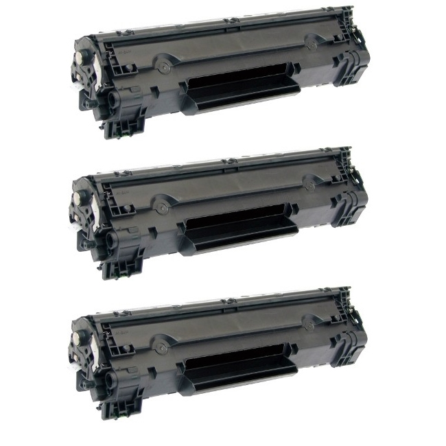 10 Pack CE278A 78A Laser Bk Toner For HP LaserJet Pro P1566 P1606dn M1536dnf MFP