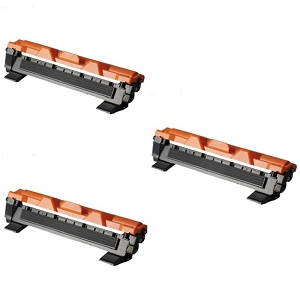 3 Pack Brother TN1030 TN-1030 Black Laser Toner Cartridges