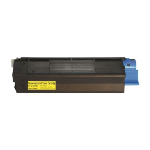 Okidata 42127401 Yellow High Yield Toner Cartridge C5100, C5150N, C5200, C5300, C5400, C5510N MFP
