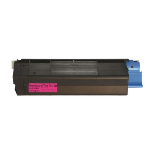 Okidata 42127402 Magenta High Yield Toner Cartridge C5100, C5150N, C5200, C5300, C5400, C5510N MFP