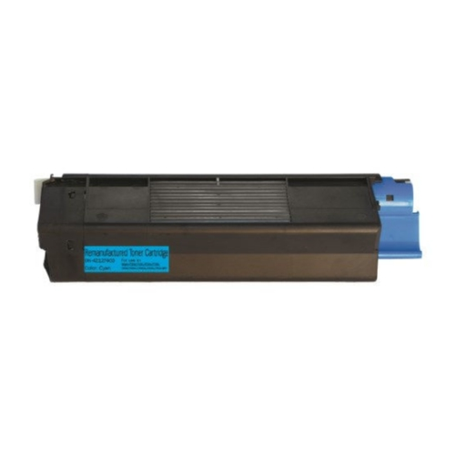 Okidata 42127403 Cyan High Yield Toner Cartridge C5100, C5150N, C5200, C5300, C5400, C5510N MFP