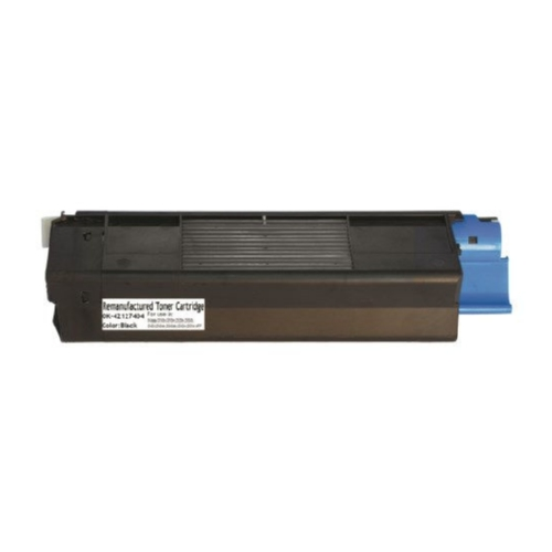 Okidata 42127404 Black High Yield Toner Cartridge C5100, C5150N, C5200, C5300, C5400, C5510N MFP