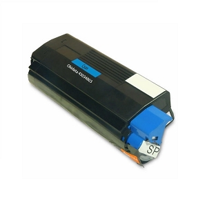 Okidata Type C6 43034803 Cyan Compatible Toner Cartridge C3100, C3200, C3200n