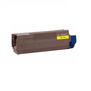 Okidata Type C8 43324417 Yellow Compatible Toner Cartridge C5550, C6100