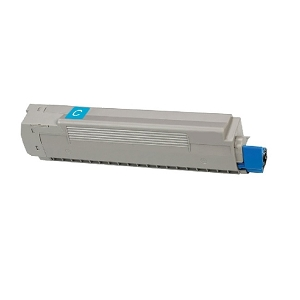 Okidata 43487735 Cyan Compatible Toner Cartridge C8800