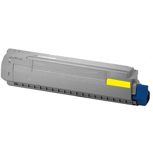 Okidata Type C14 44059109 Yellow Laser Toner Cartridge C830dn, C830dtn, C830n