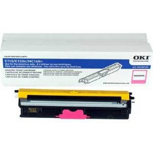 Brand New Original Okidata Type D1 44250710  Magenta Toner Cartridge C-110