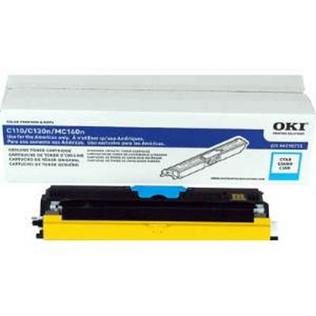 Brand New Original Okidata Type D1 44250711  Cyan Toner Cartridge C-110