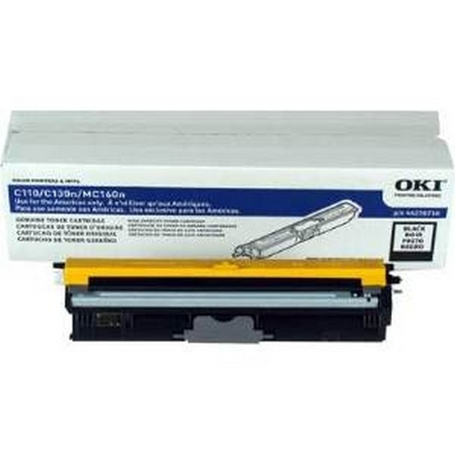 Brand New Original Okidata Type D1 44250716  Black Toner Cartridge