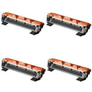 4 Pack Brother TN1030 TN-1030 Black Laser Toner Cartridges