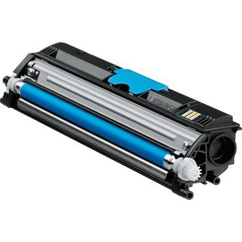 Konica Minolta A0V30HF Cyan High Yield Laser Toner Cartridge MagiColor 1600W, 1650EN, 1680MF, 1690MF