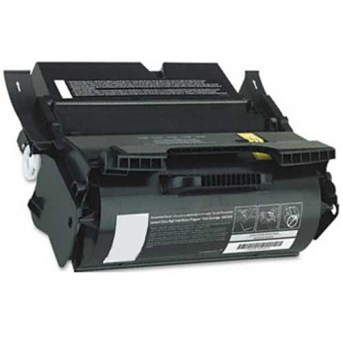 Lexmark 64015HA MICR Black High Yield Remanufactured Print Cartridge T640, T642, T644