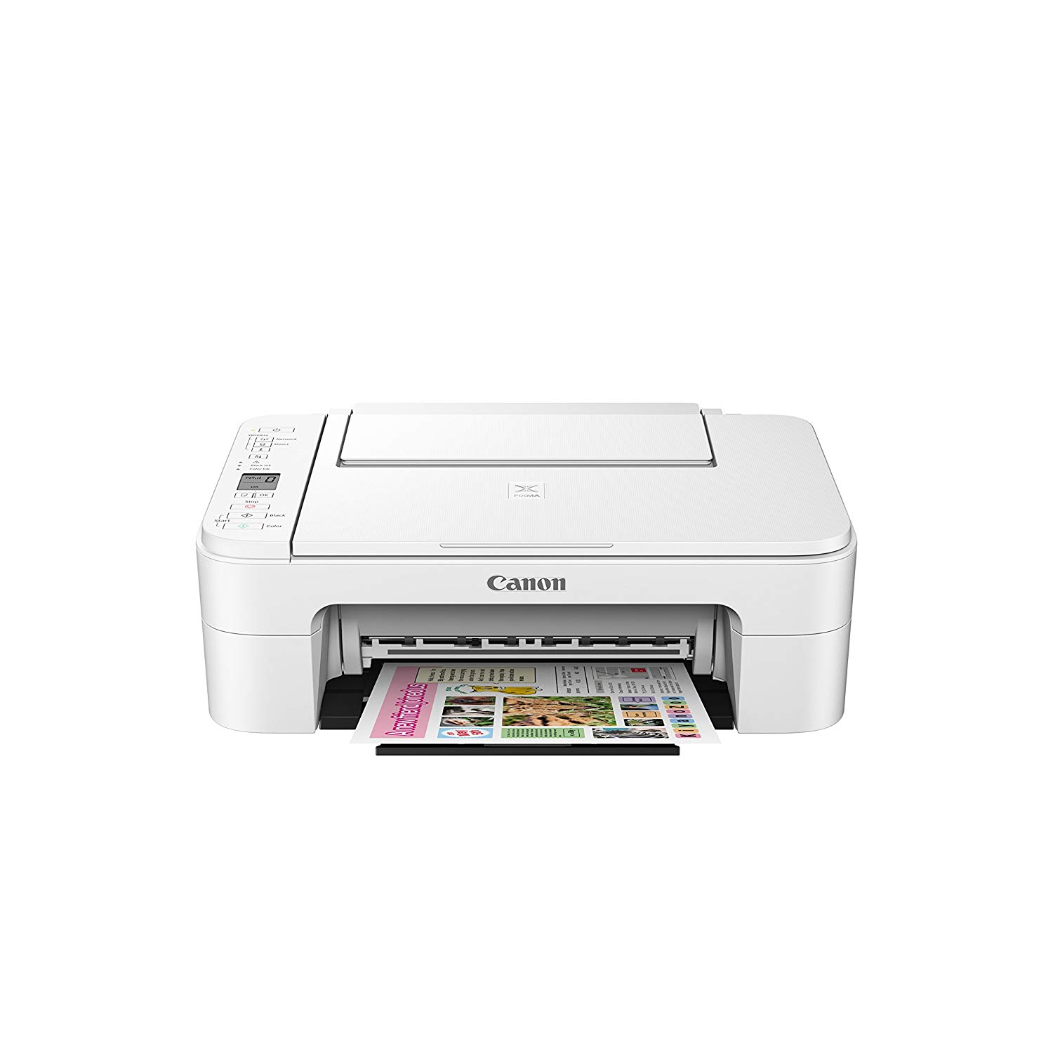 Canon PIXMA TS3120 All-In-One Color Inkjet Printer