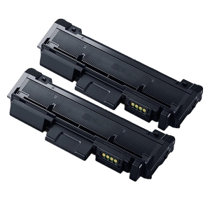 2 Pack Samsung MLT-D116L MLT D116L Black High Yield Laser Toner Cartridge
