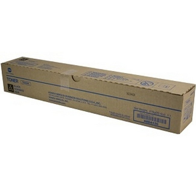 Brand New Original Konica Minolta TN324 A8DA130 TN324K Black Toner Cartridge Bizhub C258, C308, C368