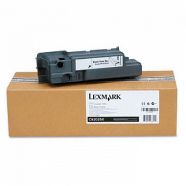Brand New Original Lexmark C-524 C52025X  Black Waste Toner Box