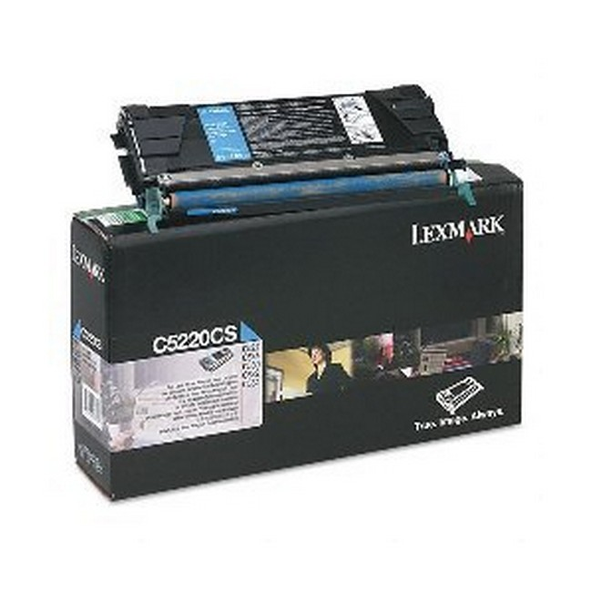 Brand New Original Lexmark C-524 C5220CS  Cyan Toner Cartridge C522, C524, C530, C532
