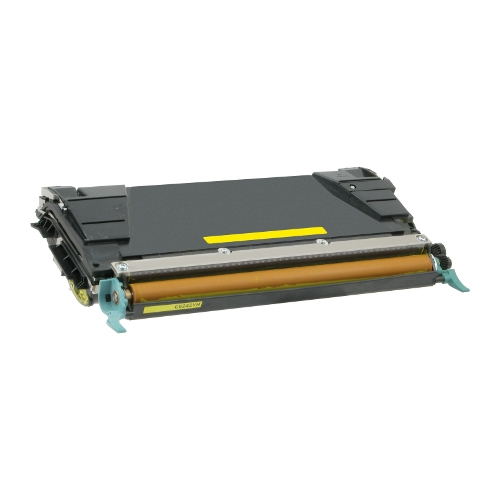 Lexmark C5242 C5242YH Yellow Compatible High Yield Toner Cartridge C524, C532, C534