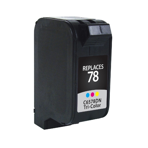 HP 78 C6578A Tri-Color Remanufactured Inkjet Cartridge